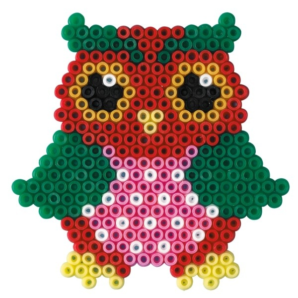 Owl Hama Mini perler