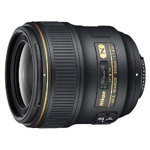 Nikon 35mm f/1.4G AF-S FX SWM Nikkor Lens