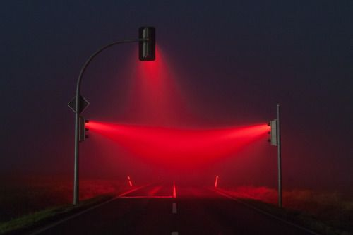 Red Ray Shield | Red Lights and Fog