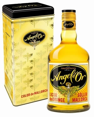 Angel Dor- orange liqueur from Mallorca