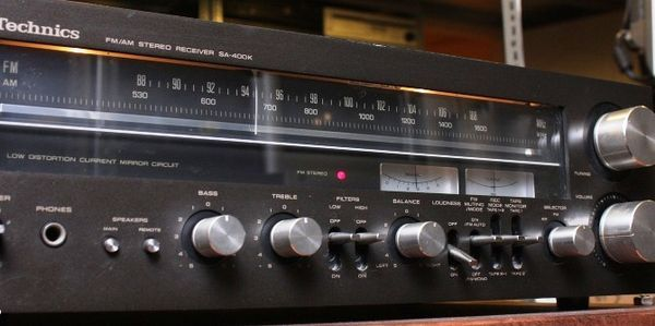 Introducing the 1977 Technics SA-1000. With more power and less distortion than any other receiver we've made: 330 watts per channel minimum RMS into eight ohms from 20 Hz-20 kHz with no more than 0.03% total harmonic distortion.