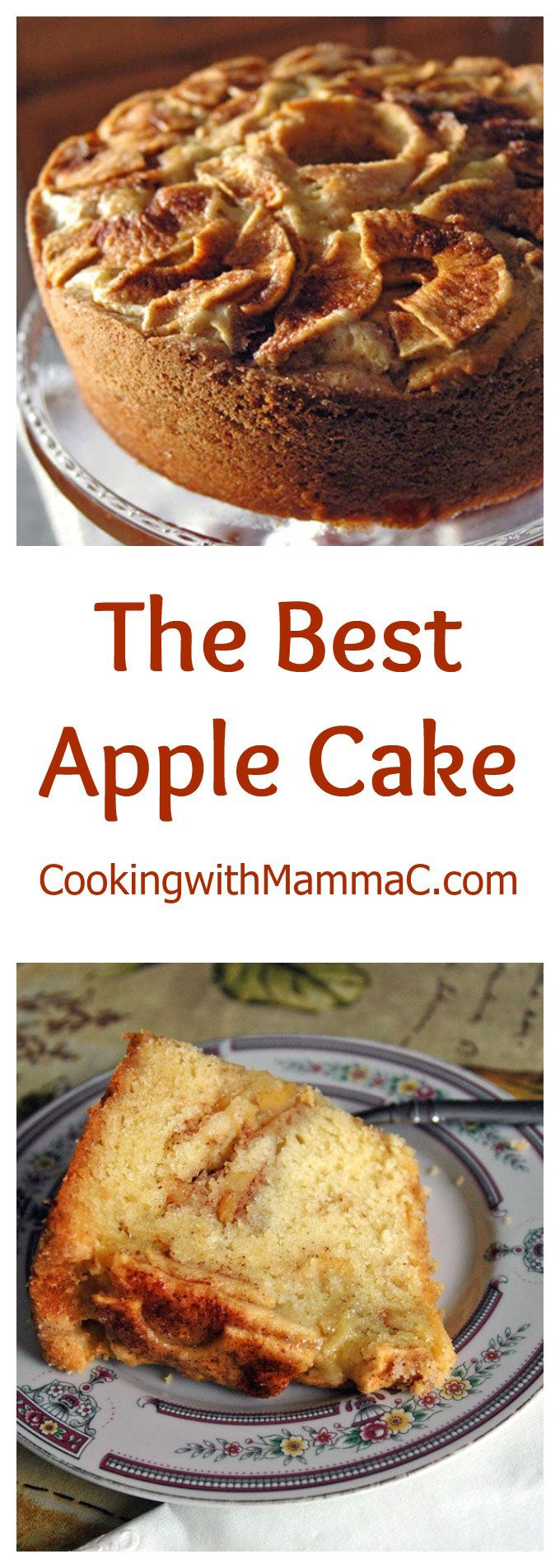 This is The Best Apple Cake and also the best dessert to ever come out of my…