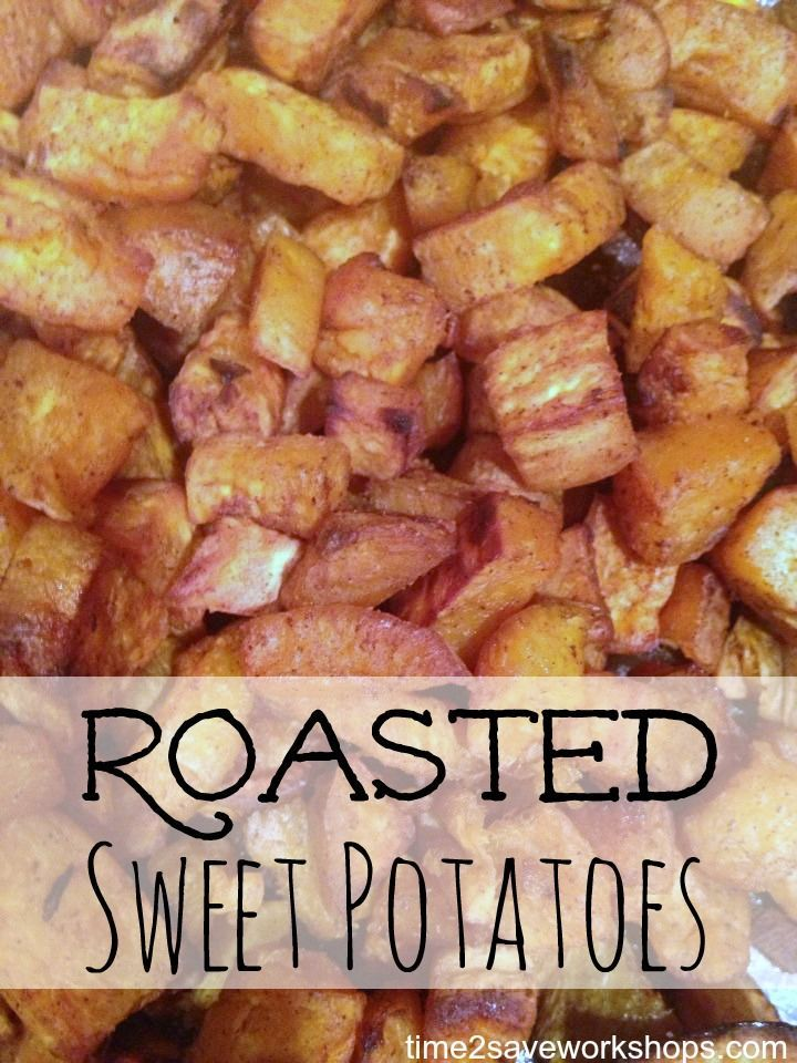 Roasted Sweet Potatoes Advocare 24 Day Challenge Friendly