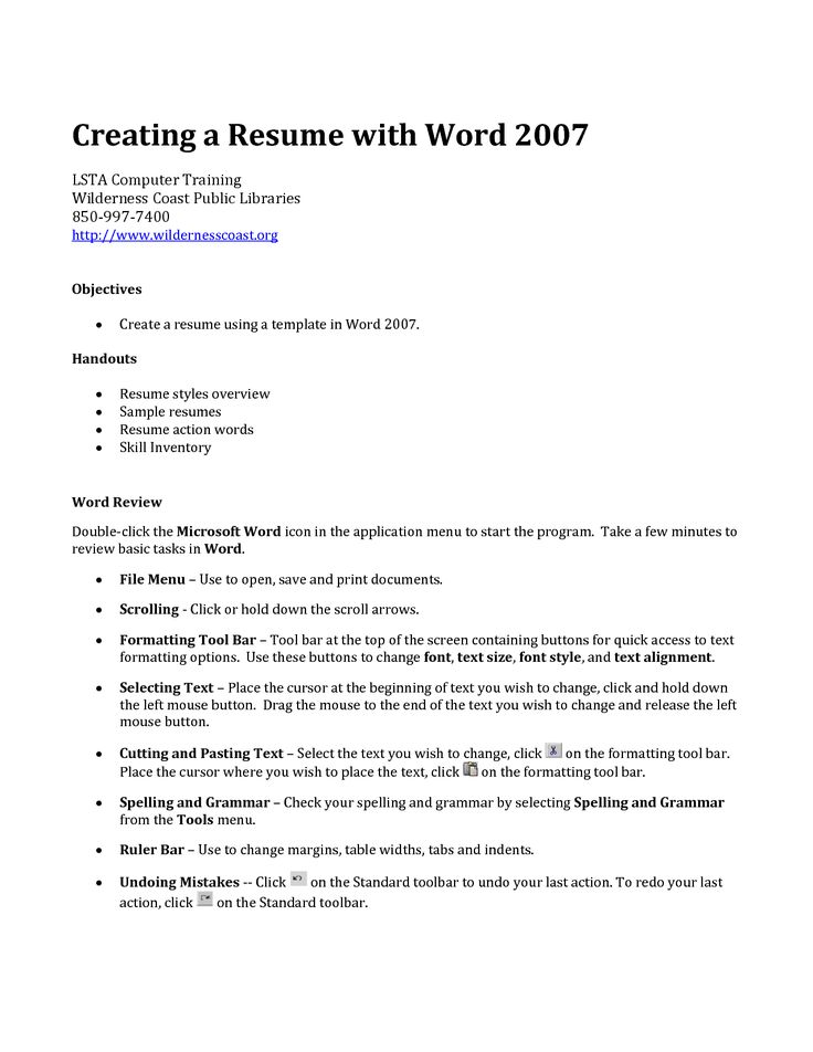 Best 25+ Make a resume ideas on Pinterest Resume, Professional - microsoft word 2007 resume template