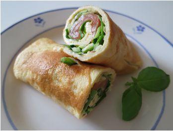 Super nem, lækker og sund frokost eller ret til morgenmaden lørdag morgen! I opskriften indgår laks, men der er ingen reelle grænser for, hvad der kan puttes i af kød! Hvad skal der bruges til 1 p...