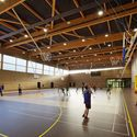 Secondary School, Sport Hall and Cultural Center  / Chartier Dalix Architectes © Takuji Shimmura