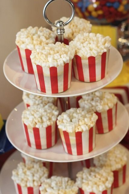 Cupcakes de pipoca <3
