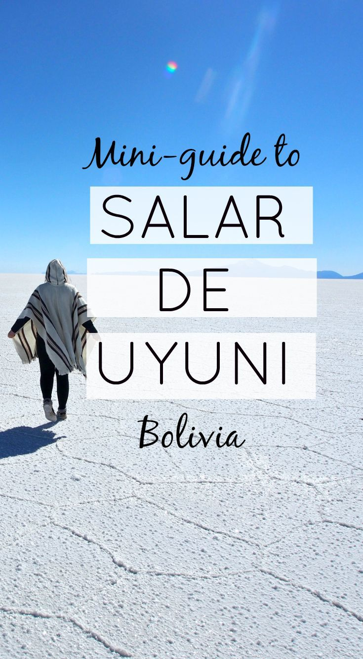 A mini guide to Salar de Uyuni, the biggest salt flats in the whole world. How…