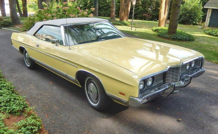 Hemmings Find of the Day – 1972 Ford LTD convertible