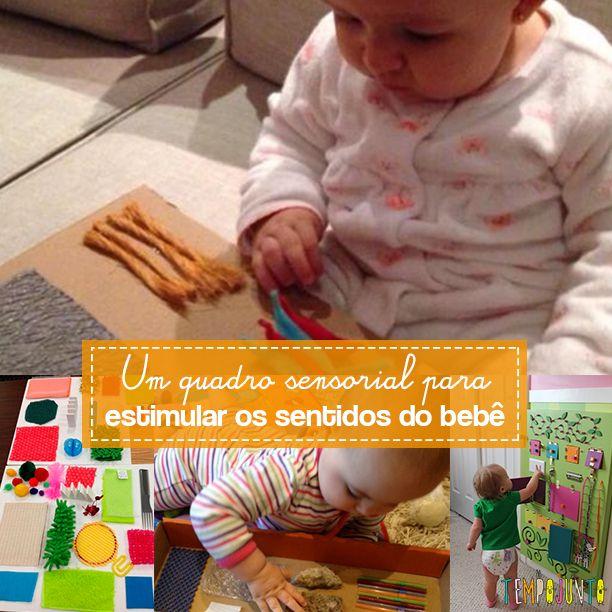 O quadro sensorial é uma atividade que promove o desenvolvimento da curiosidade…