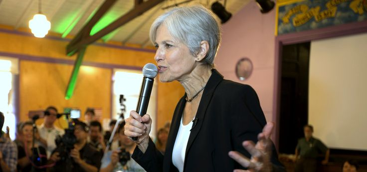 Never mind that Stein also ran for president in 2012, ran for governor in Massachusetts in 2002, as a candidate for the Massachusetts House of Representatives in 2004, for Massachusetts Secretary of the Commonwealth in 2006 and for Massachuset