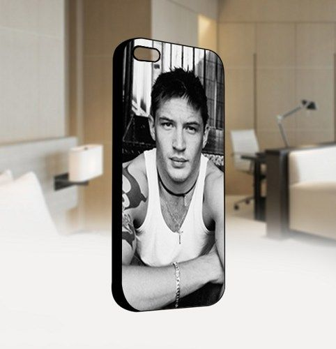 Tom Hardy Vintage - For IPhone 4 or 4S Black Case Cover
