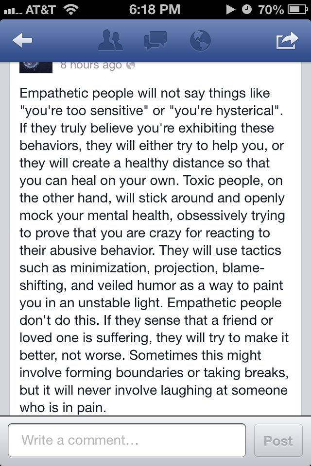 These people know NO boundaries.  Empathic vs toxic people