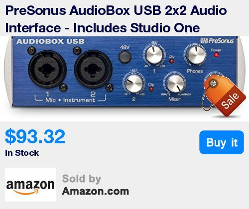 Bus-powered USB audio and MIDI interface * 24-bit resolution, 44.1 and 48 kHz sampling rate * 2 combo mic/instrument inputs with high-performance, low-noise, high-headroom mic preamplifiers * Zero-latency analog monitoring * Includes free download of Studio One 3 Artist DAW software and 6+ GB of third-party resources after product registration * Compatible with almost all recording software for Mac- and Windows