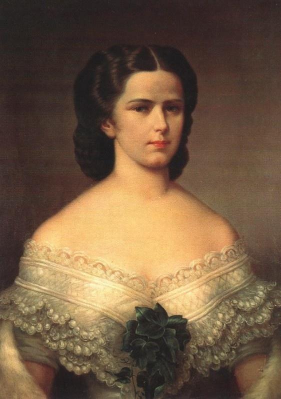 Portrait of Elizabeth Empress of Austria