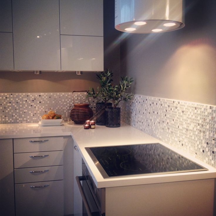 HTH Kitchen Dekor hvit høyglans