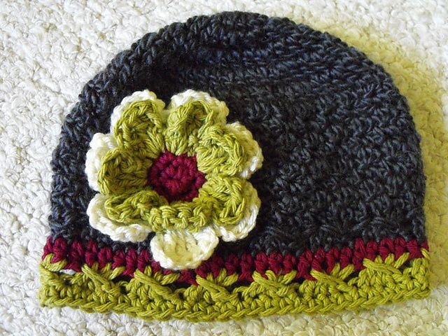 best designer handbags 34Mary34 Textured Cloche  Crochet pattern by Karen Krouse