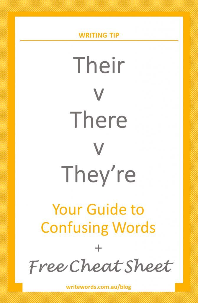Word choice and avoiding confusion – learn the difference between the commonly confused words 'there', 'their' and 'they're' #confusingwords #writingtip