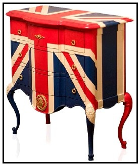 Just paint a Union Jack on anything and make it good.