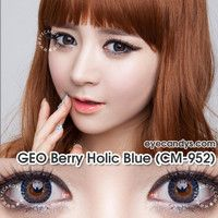 GEO Berry Holic Blue Circle Lens Fashion Colored Contacts Korean Contact Lenses | EyeCandy's