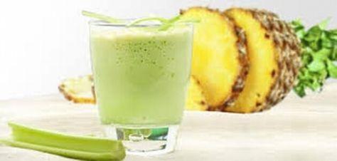 Smoothie met Selderij en Ananas