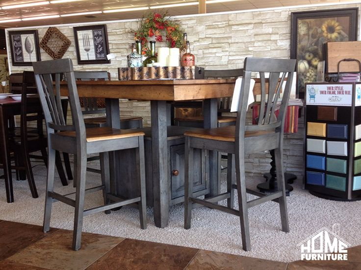JT Select Hi Dining 5 Piece Table HomeFurniture