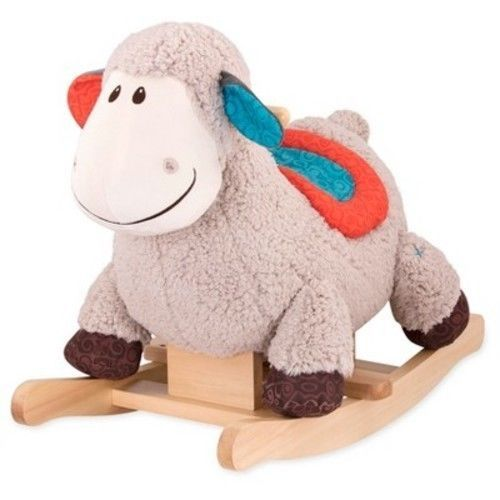 EBAY:  Was $35, NOW $17.49 + Ships FREE!  B. Toys  Rocking Sheep  SAVE 50% : http://ebay.to/2BEy6El   #ad