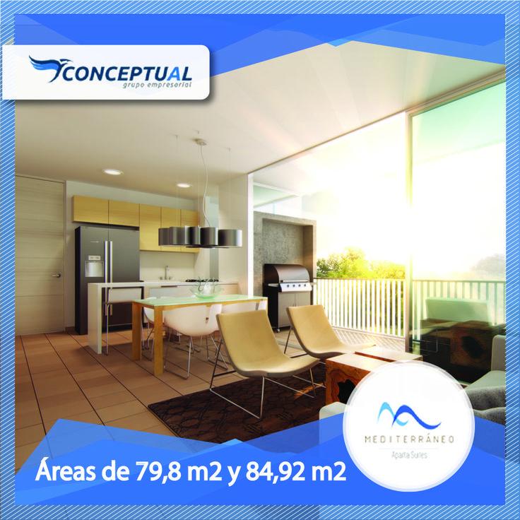 ¿Estás cansado del ruido y la polución que se respira en la ciudad?  Cambia de ambiente y compra un Aparta Suite en Mediterréneo. Llámanos 411-44-39 y Whatsapp: 313 680 75 98.
