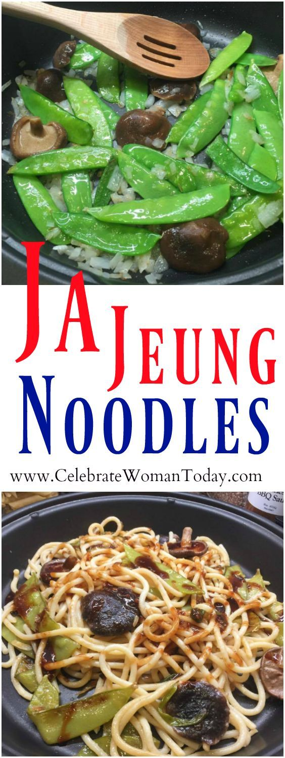If you are a huge fan of ethnic cuisine, you may be already convinced that all the flavor is in the SAUCE! Try this recipe for Ja Jeung Noodles! #RecipeIdeas