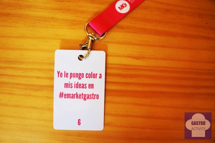 Yo le pongo color a mis ideas en #emarketgastro