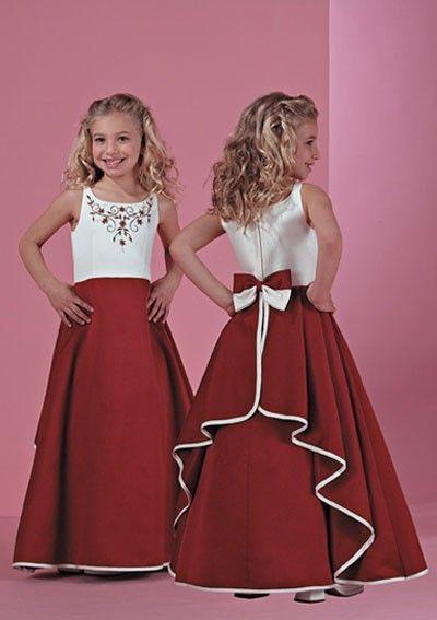 Милый горячая распродажа вышитые с бантом рукавов детские платья для свадьбы девушки театрализованное платье первое причастие бальное платье купить на AliExpress