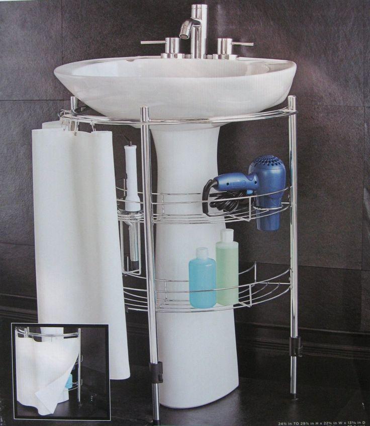 Amazoncom Under Pedestal Sink Storage Home Kitchen