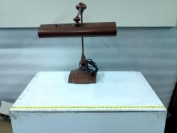 Art Specialty Co Flexo Industrial Desk Table Lamp for sale at bmisurplus.com