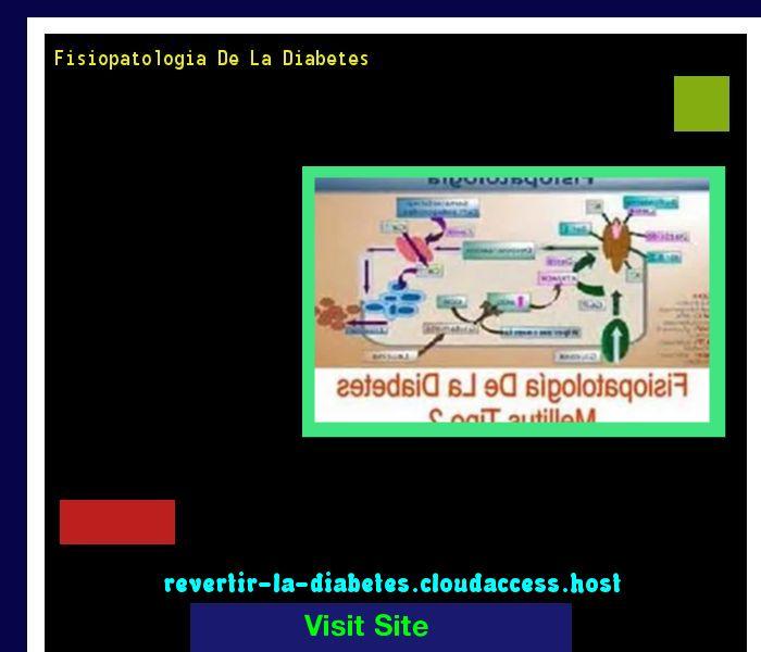 Fisiopatologia De La Diabetes 190853 - Aprenda como vencer la diabetes y recuperar su salud.
