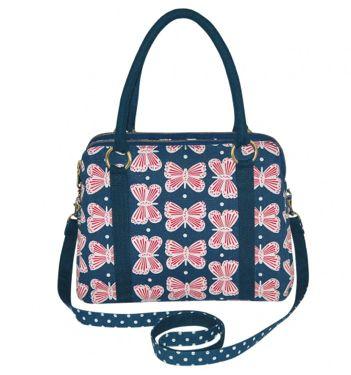Navy Alice Bag