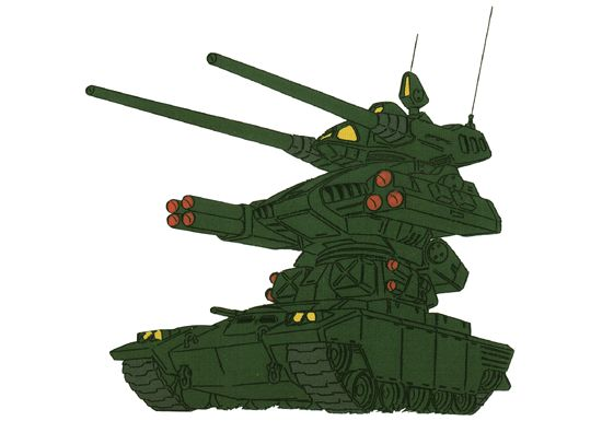 RMV-1 ガンタンクⅡ『MSV』