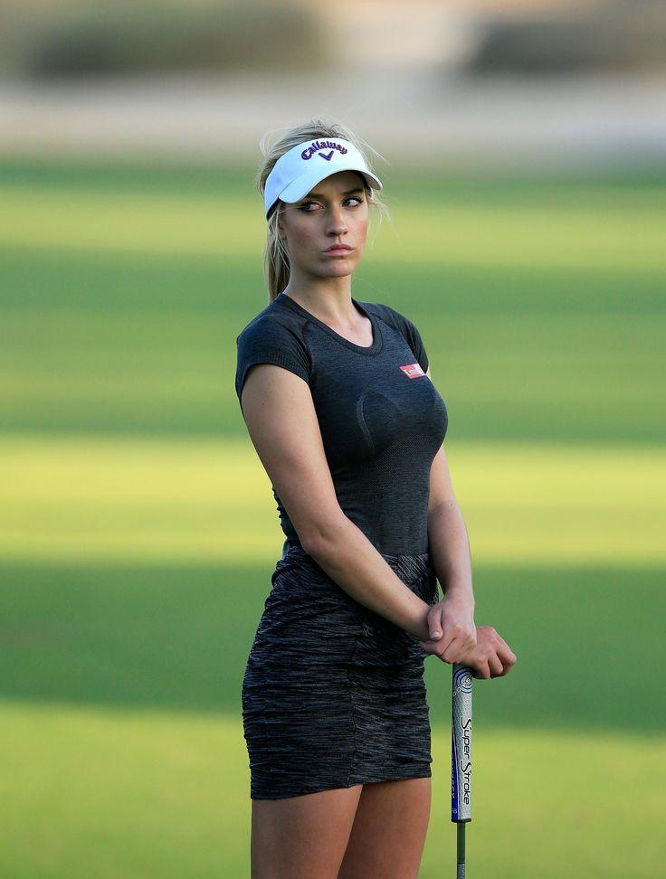 Paige Spiranac's Pro Debut In Dubai - Golf Digest