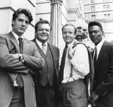 Chris Noth, Paul Sorvino, Michael Moriarty, Richard Brooks - Law and Order