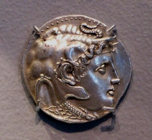 Tetradrachm with the head of Alexander the Great, 316-310 B.C.