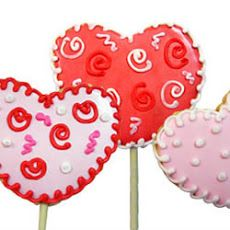 Lollipop Cookie Valentines Recipe