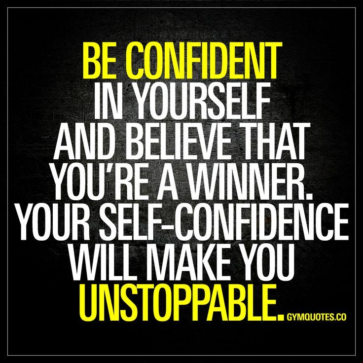 Quotes About Self Confidence: Top 25+ Best Self Confidence Quotes Ideas On Pinterest
