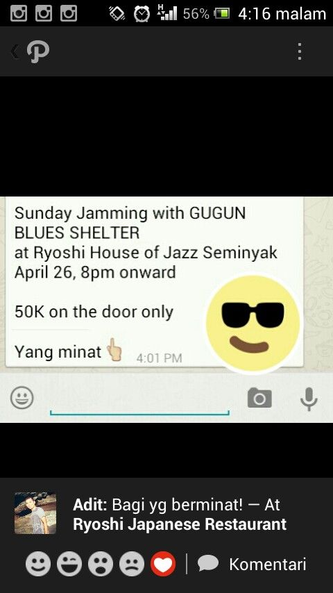 Sunday Jamming with Gugun Blues Shelter