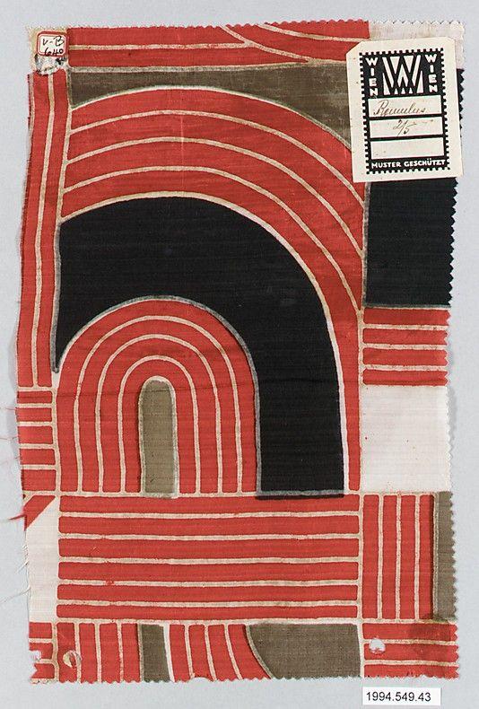 Textile sample.1910-28 silk