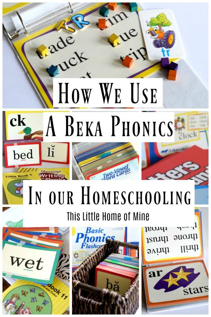 How We Use A Beka Phonics in Our Homeschooling by This Little Home of Mine