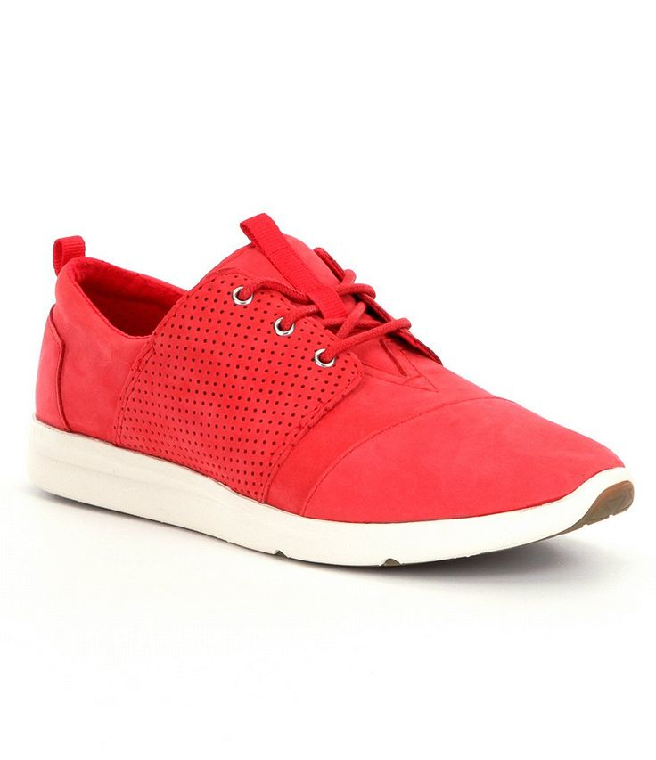 $34 - Red:TOMS Delray Sneakers - Dillards