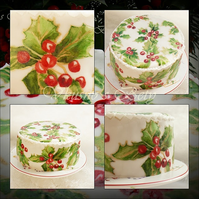 English Christmas cake recipe can see     /Cake Decorating Ideas