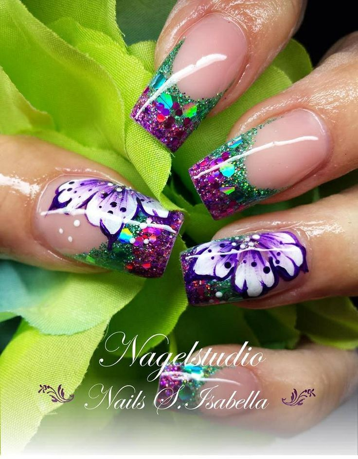 93 best Fancy nail designs images on Pinterest | Arte de uñas, Uñas ...