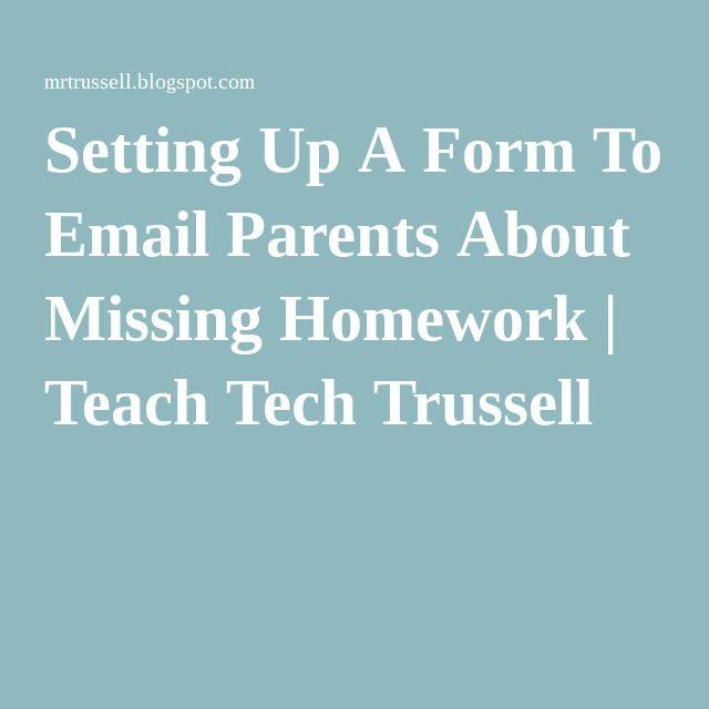 Should I send my teacher an email?