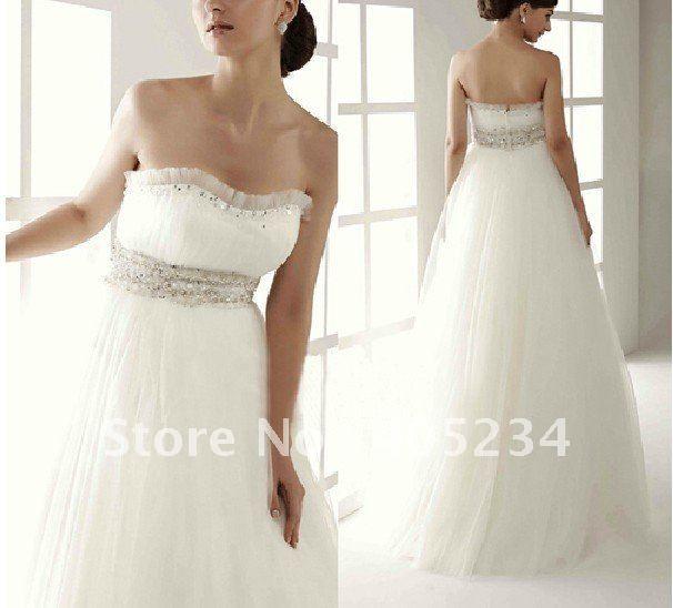 Simple wedding dress!