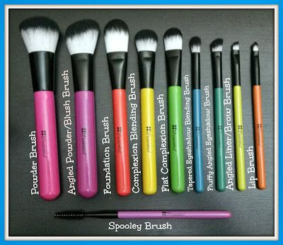Makeup Talk: BH Cosmetics - 10Pc. Pop Art Brush Set